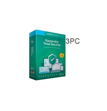 Kaspersky Total Security x3 1 Anno ESD