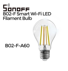 SONOFF B02-F-A60. Lampadina WIFI.