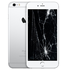 iPhone 6S Plus Bianco Display Rotto